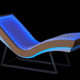 Luminous armchair chaise longue Arcus