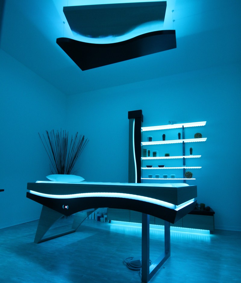 Aerius: Luminous piece of furniture by ISO Benessere